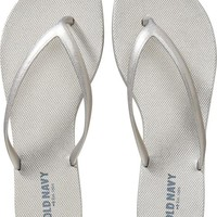 Old Navy Womens Elevated Flip Flops