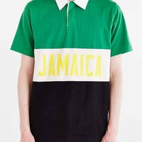 Stussy Jamaica Rugby Shirt- Green