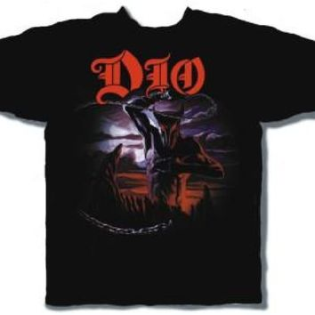 Dio T-shirt - Holy Diver Album Cover | Men's Black Shirt