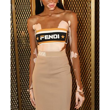 FENDI Women Vest Long skirt Two-Piece