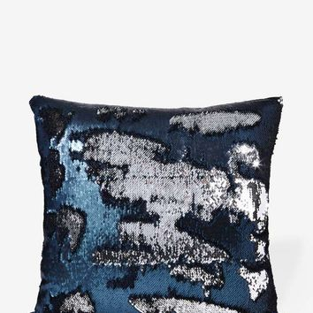 Aviva Stanoff Solana Mermaid Sequin Pillow