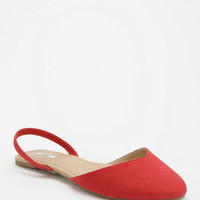 Urban Outfitters - Kimchi Blue Sweetheart Slingback Skimmer