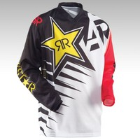 2017 2016 ANSWER Rock Star Moto Jersey MX MTB Off Road Mountain Bike DH Bicycle Jersey DH BMX Motocross jersey 3 styles