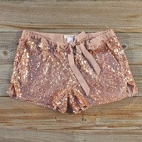 Glitter Girl Party Shorts