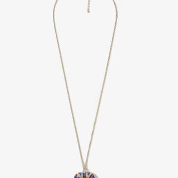 Union Jack Heart Necklace
