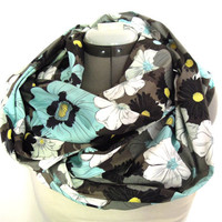 Infinity Scarf // Large Floral