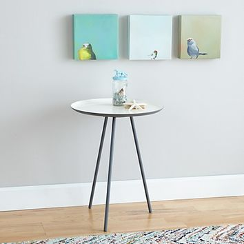 Precious Metal Nightstand (White) in Nightstands | The Land of Nod