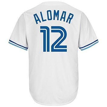Roberto Alomar Toronto Blue Jays White Cool Base Cooperstown Mlb Jersey