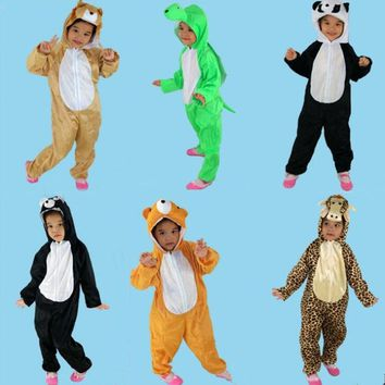 Animal Dinosaur Cat Dog Cosplay One Piece Children Boy Girls Anime  halloween costume for kids Christmas