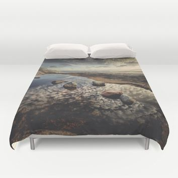 My watering hole Duvet Cover by HappyMelvin