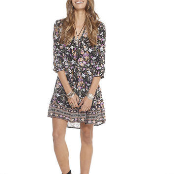Desert Flower Day Dress Midnight Bloom LIMITED EDITION