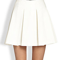 Moschino Cheap And Chic - Pleated Mini Skirt - Saks Fifth Avenue Mobile