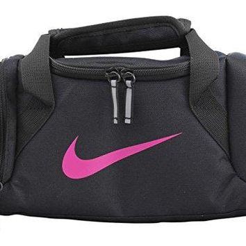 Nike Deluxe Insulated Black/Active Pink Tote Lunch Bag