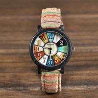 Ladies Watch Hot Sale Vintage Pattern Leather Men Watch [9022292228]