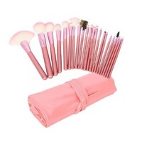 Cozyswan (TM) 22pcs Superior Professional Fashional Soft Cosmetic Makeup Brush Set Pink + Pouch Bag Case