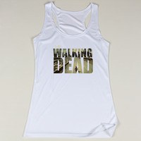 Hot Sale The Walking Dead Girls Sleeveless Shirts Top Quality Lana Del Rey Female Vest Tops New Arrival Women's Cartoon Tanks