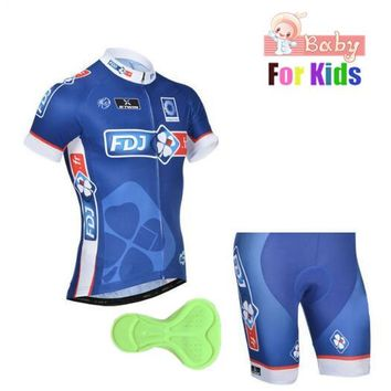 Kids 2018 Cycling Jersey Ropa Ciclismo Girls Summer Racing Bicycle Clothing Short sleeve Boys MTB Bike Jersey Maillot Ciclismo