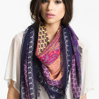 Tarnish Paisley Patchwork Scarf | Nordstrom