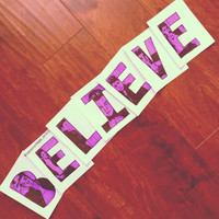 Justin Bieber Believe Package by samonstage on Etsy