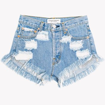 Keepers Stone High Waist Cut Off Shorts