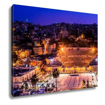 Gallery Wrapped Canvas, Amman Jordan