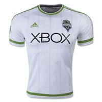 Seattle Sounders 2015 Authentic Away Soccer Jersey - WorldSoccerShop.com