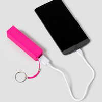 Portable Phone Charger In Pink