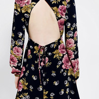 Reformed By The Reformation Open-Back Babydoll Dress - Urban Outfitters