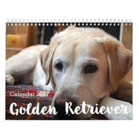 Golden Retriever Calendar 2017 Your Custom Photos