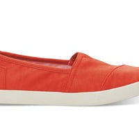 TOMS Fiesta Nylon Women's Avalon Sneaker Red