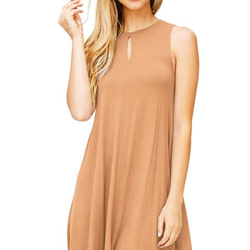 High Key A-Line Dress