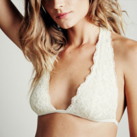 Free People Truly Madly Deeply Halter Bra