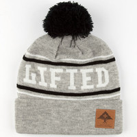 Lrg Vester Beanie Grey/White One Size For Men 25020397501