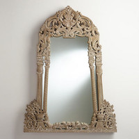 Wooden Victorian Isle Mirror | World Market