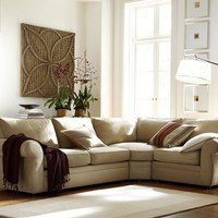 Pearce 3-Piece Sectional with Wedge - everydaysuede&#8482