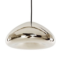Void metal pendants by Tom Dixon