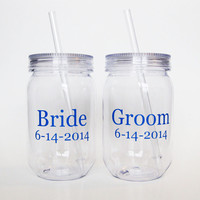 Bride and Groom Tumblers