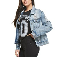 Scout Distressed Jean Jacket