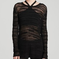 Helmut Lang Sweater - Erroded Threads | Bloomingdales's