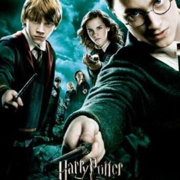 harry potter order of the phoenix poster Metal Sign Wall Art 8in x 12in