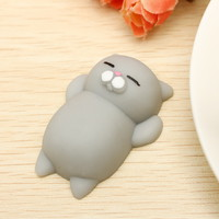 High-quality Mochi Cat Kitten Squishy Squeeze Cute Healing Toy Kawaii Collection Stress Reliever Gift Decor - NewChic Mobile.