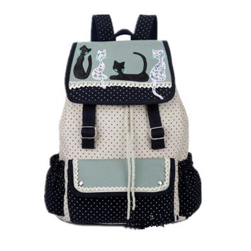 Lounge Canvas Backpack