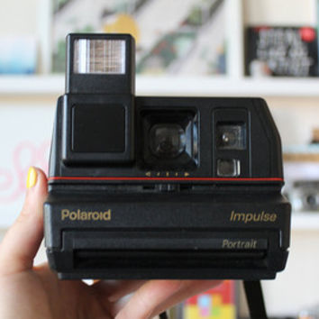 Polaroid Impulse Camera. Vintage Polaroid Camera.