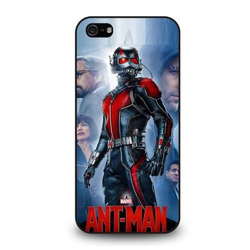 ant man cover marvel iphone 5 5s se case cover  number 1