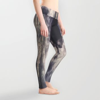 They will find you Leggings by HappyMelvin | Society6