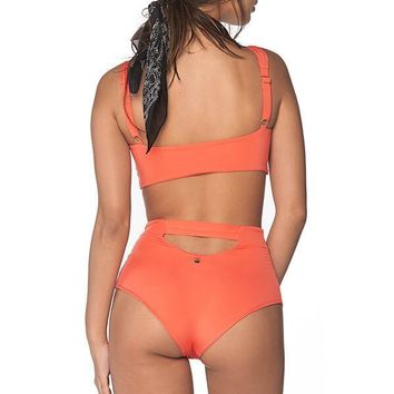 MALAI Tangerine High Waist Bottom