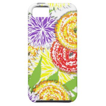 Pretty Floral  Graphic Big Summer Flowers iPhone 5/5S Cover