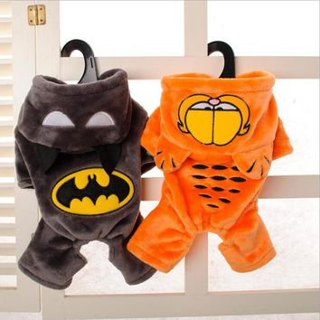 Best selling Autumn/Winter Pet Clothes Cute Warm Lace Dress Cat Batman shape dog clothes Puppy Dog Clothes apparel
