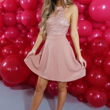 I Only Have Eyes For You Dress: Blush