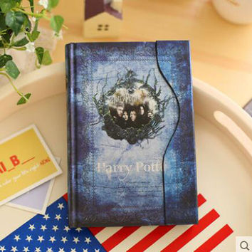 New Harry Potter Gift Diary Book Notebook Vintage Notebook/Hard Cover 15-16 calendar
